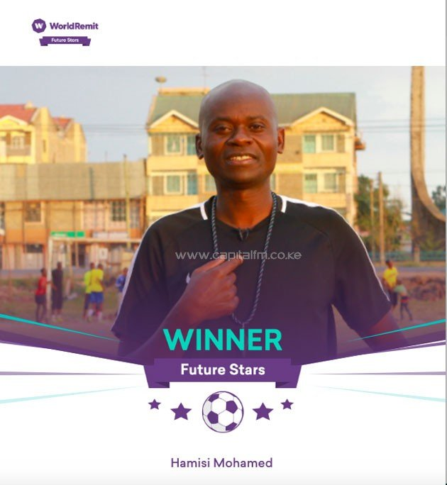 Kenya's Hamisi Mohamed wins Arsenal FC/WorldRemit youth coaching programme