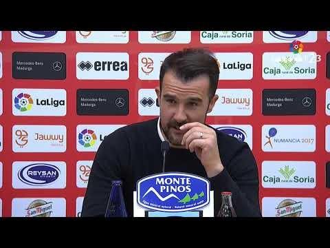 Rueda de prensa de López Garai tras el CD Numancia vs Real Zaragoza (1-0)