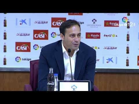 Rueda de prensa de Fran Fernández tras el UD Almería vs UD Las Palmas (3-0)