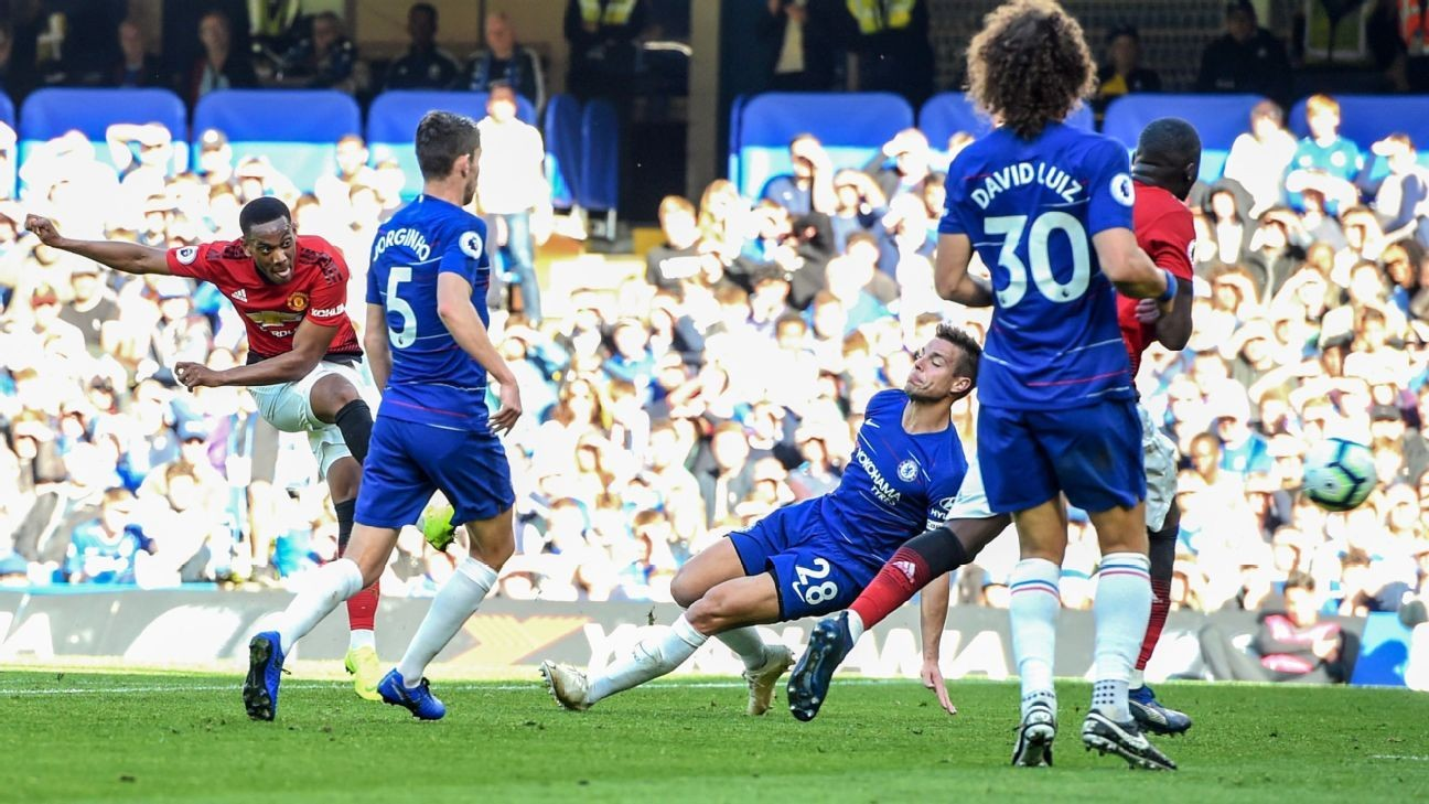 3194f0649ec Manchester United comeback led by Juan Mata and Anthony Martial 8 10 vs.  Chelsea