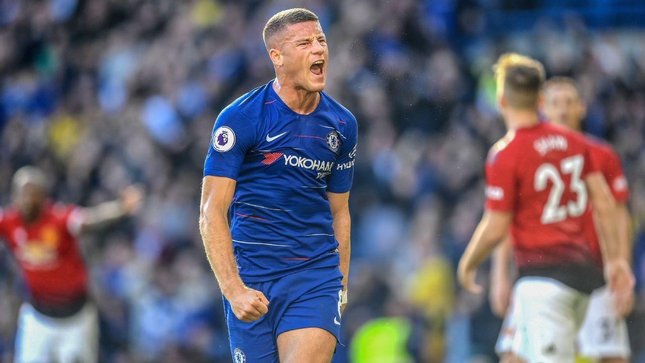 Last-gasp Ross Barkley Strike Saves Point For Chelsea
