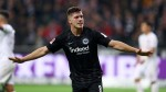 Luka Jovic scores five as Eintracht Frankfurt thrash promoted Dusseldorf