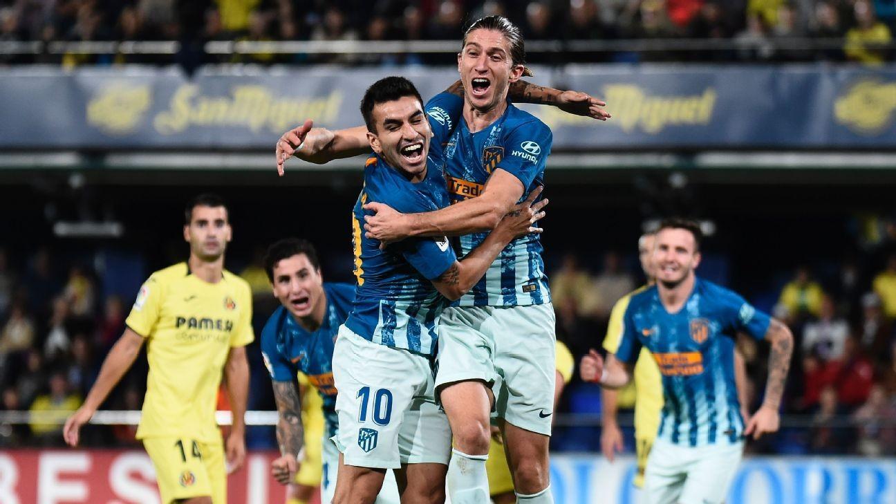 Atletico Madrid net draw thanks to Filipe Luis' 7/10 and Jan Oblak's 9/10