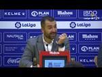 Rueda de prensa de Diego Martínez tras el AD Alcorcón vs Granada CF (1-0)