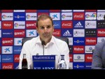 Rueda de prensa de Jagoba Arrasate tras el Real Oviedo vs CA Osasuna (2-1)