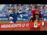 Resumen de Real Oviedo vs CA Osasuna (2-1)