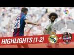 Resumen de Real Madrid vs Levante UD (1-2)