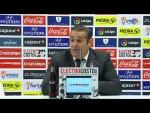 Rueda de prensa de José Ramon Sandoval tras el Córdoba CF vs RC Deportivo (1-1)
