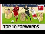 Lewandowski, Werner & More - EA SPORTS FIFA 19 - Top 10 Forwards