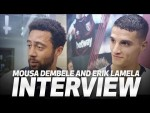 MOUSA DEMBELE CRASHES ERIK LAMELA'S POST-MATCH INTERVIEW | West Ham 0-1 Spurs