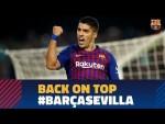 BARÇA 4-2 SEVILLA | The FC Barcelona's victory against Sevilla