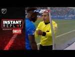 Player Caught Spying on Ref, Gets Yellow Card