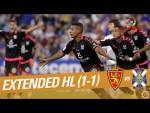Real Zaragoza vs CD Tenerife (1-1) - Extended Highlights