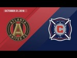 HIGHLIGHTS: Atlanta United FC vs. Chicago Fire | October 21, 2018