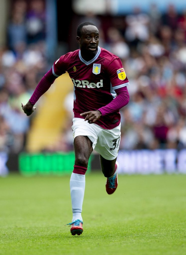 Albert Adomah strikes as Aston  Villa move into play-off spots