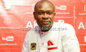 CK Akunnor faces difficult challenge in first game in charge of Kotoko