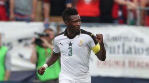 Ghanaians should not force Asamoah Gyan into premature retirement- Black Stars winger Nana Ampomah