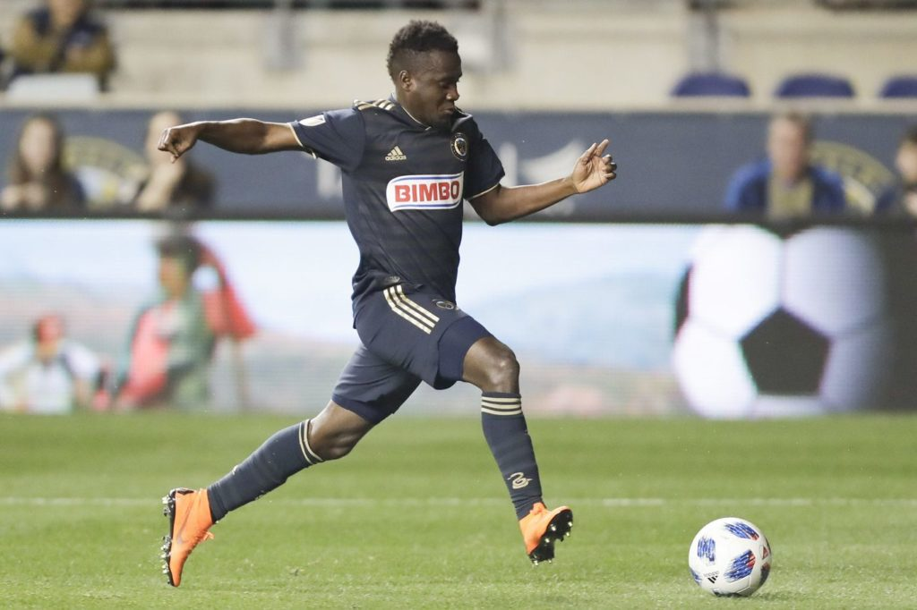 Philadelphia Union's David Accam's season over in the MLS after surgery