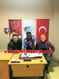 Former Liberty Professionals star Gerald Arkson signs for Turkish fifth-tier side Kaynal Belediyespor