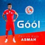 Left-back Patrick Asmah scores first-ever goal for FK Senica in Slovakian top-flight