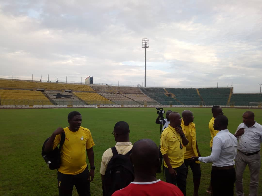 VIDEO: Watch Black Stars train for the first time in Kumasi ahead of Sierra Leone clash