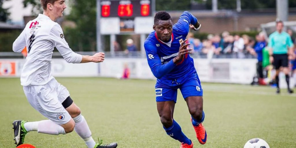 VIDEO: Bernardinho Tetteh strikes winner for ASV Geel against Knokke in Belgian lower-tier league