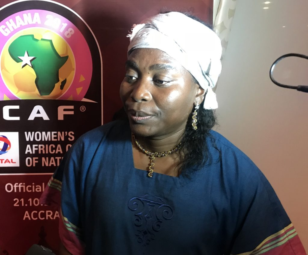 Cameroon national female team coach Bernadette Anor eyes AWCON trophy