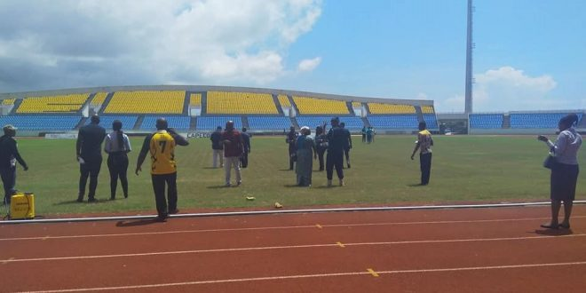 2018 AWCON: Final inspection by CAF ongoing in Cape Coast, Elmina