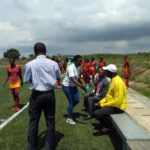 Normalisation Committee visit Black Queens in camp ahead of AWCON