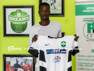 Godwin Okudzato join Dreams FC from Bafali Sporting Club