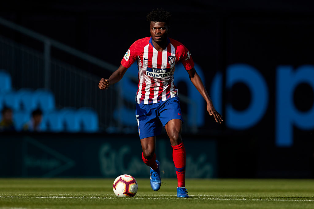Thomas Partey helps Atletico Madrid to score in every home LaLiga match since 1984