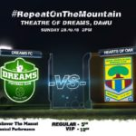 Dreams FC line up friendly with Hearts on Sunday
