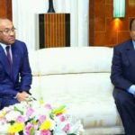 Photos: Caf President meets Cameroon leader Paul Biya in historic visit