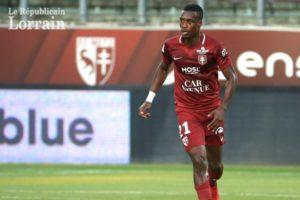 FC Metz defender John Boye starts training after international duty