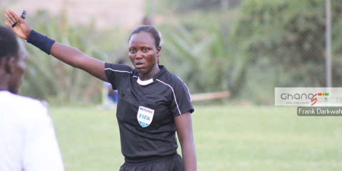 Referee Juliet Appiah selected to attend  CAF Elite 'A' Women's Course for 2018 AWCON