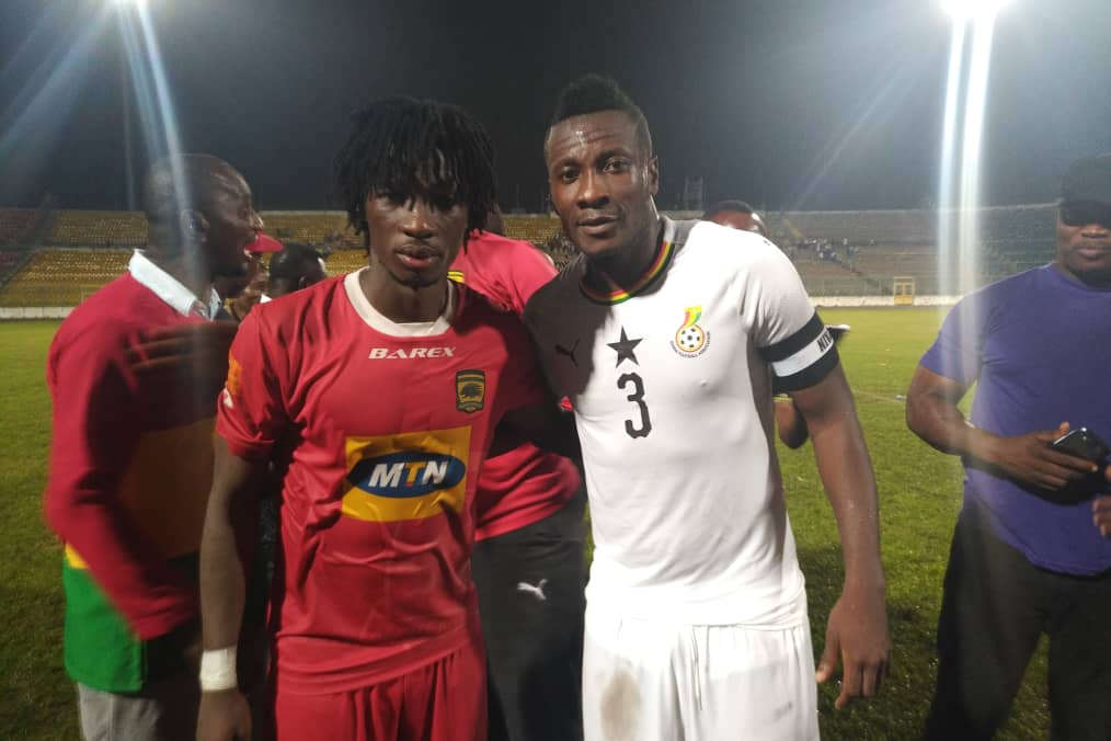 DISCLOSED: Asamoah Gyan pays for Kotoko training session at Accra Academy sports complex ahead of Kano Pillars showdown