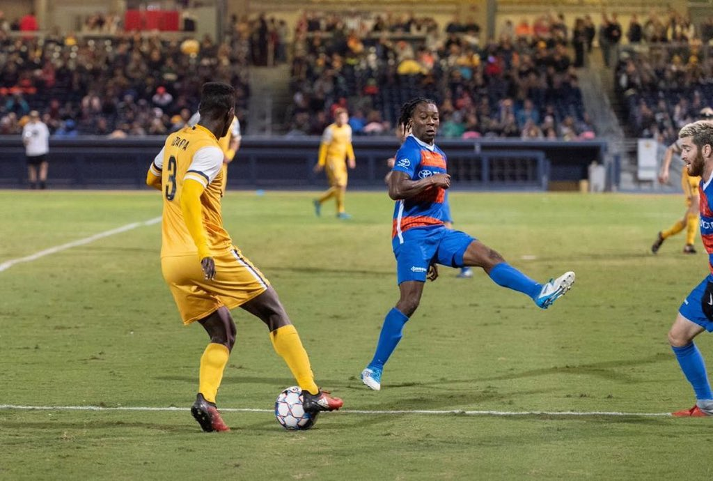 Ghanaian forward Ropapa Mensah remains positive despite Nashville play-offs elimination