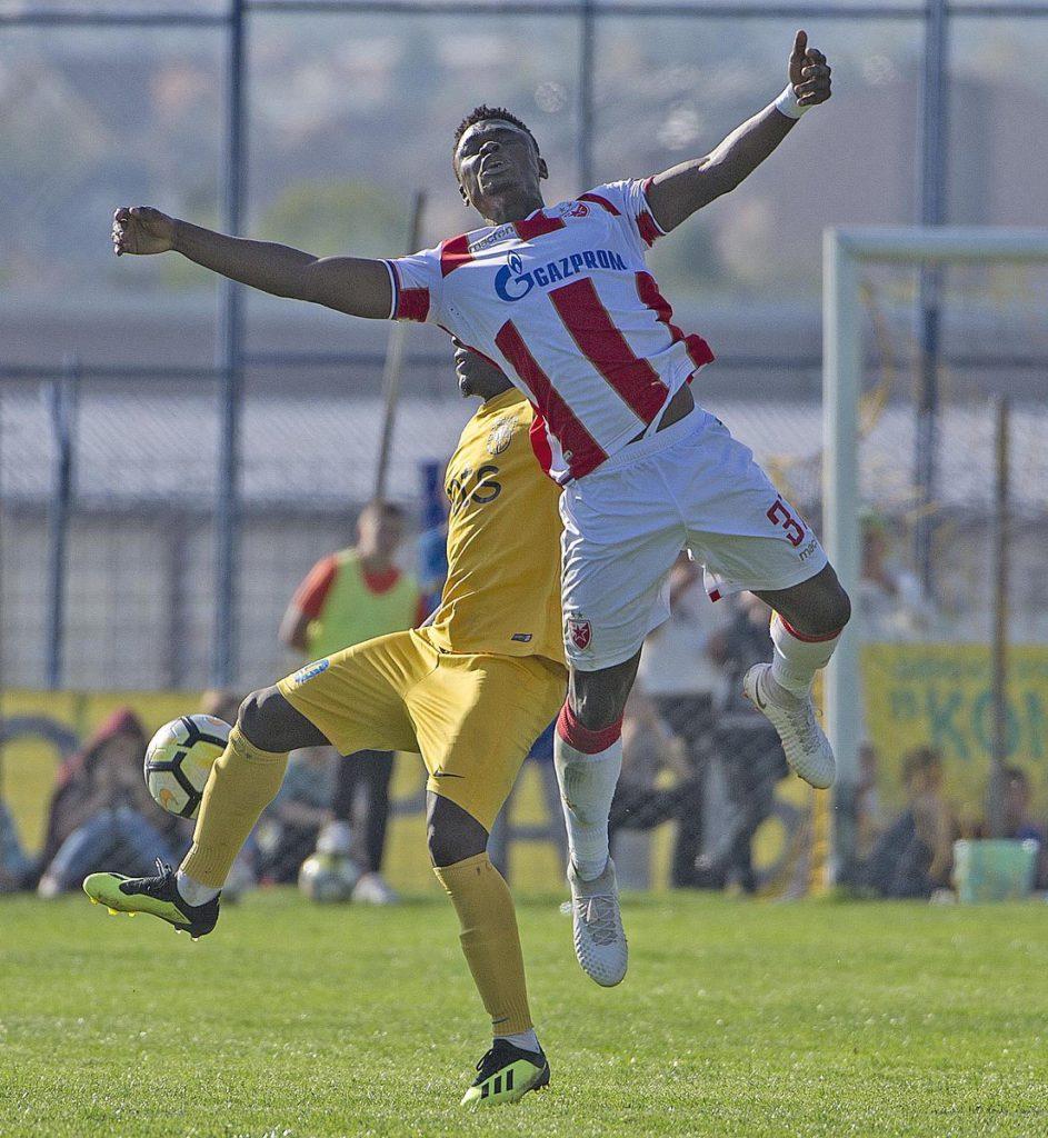 Filip Stojkovic\'s injury could earn Rashid Sumaila more game time at Red Star Belgrade