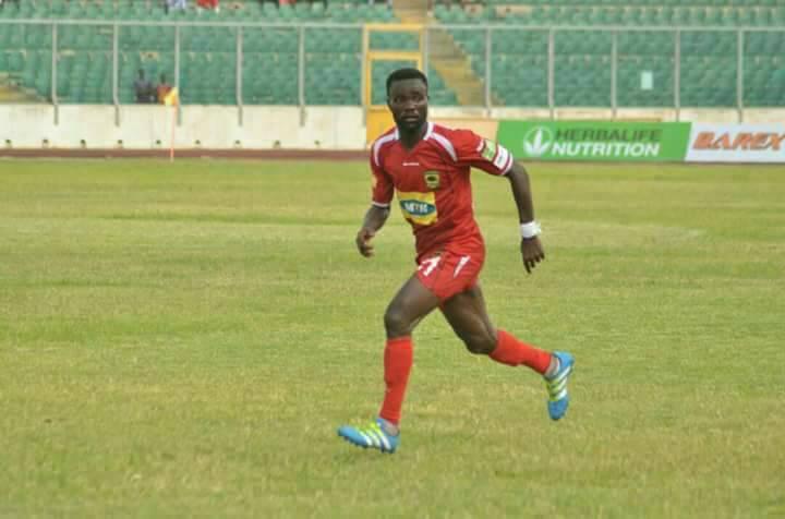 Seth Opare part ways with Asante Kotoko