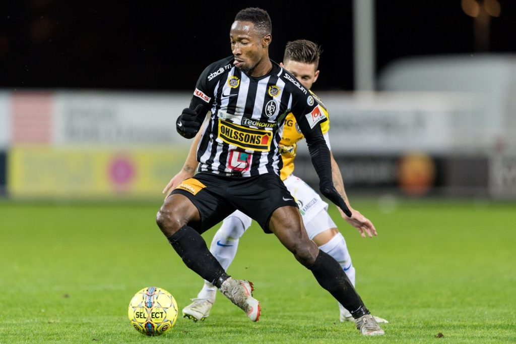 Striker Sadat Karim scores consolation to tally 11 league goals in Swedish second-tier as Landskrona BoIS lose