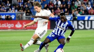 """Mubarak Wakaso scared Modric out of the game""- Former Atletico Madrid manager Jorge D'Alessandro"