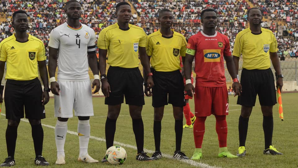 PHOTOS: Black Stars walloped Asante Kotoko in friendly encounter