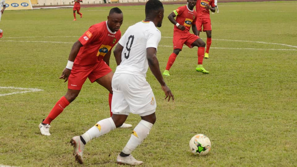 Left-back Abass Mohammed debuts for Asante Kotoko in Black Stars friendly defeat