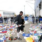 VIDEO: Leicester defender Daniel Amartey makes way to stadium to pay respect to late owner