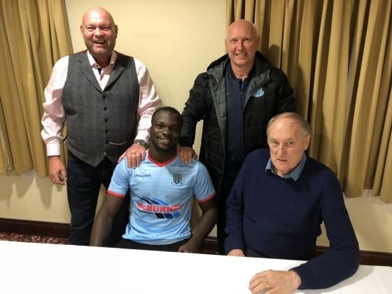 Ballymena United new Ghanaian signing Basit Umar wants to excel at Irish Premiership side