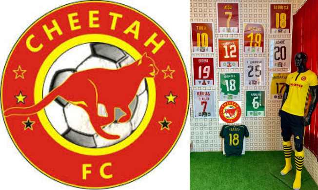 Lower-tier side Cheetah FC opens new office in Kasoa