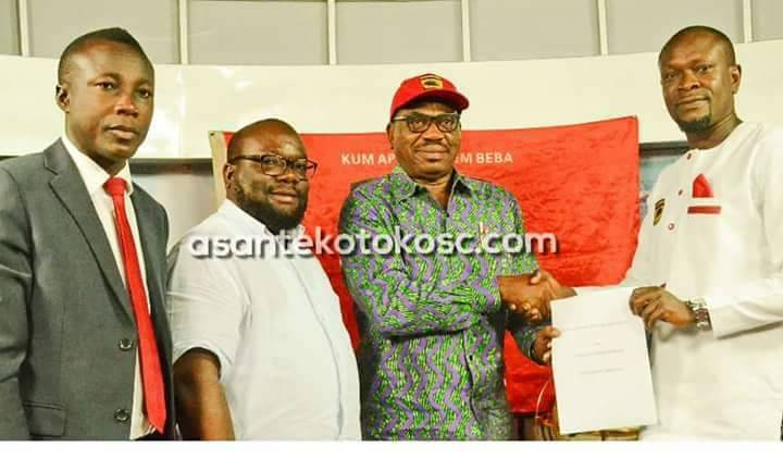 Charles Akonnor feels 'privileged' to be handed Asante Kotoko job