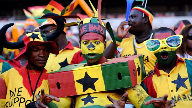 Image result for ghana supporters