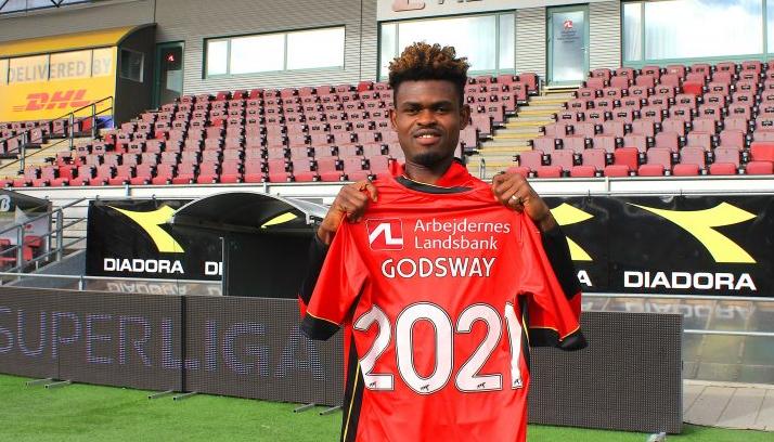 VIDEO: Godsway Donyoh expresses gratitude to FC Nordsjælland after penning new deal