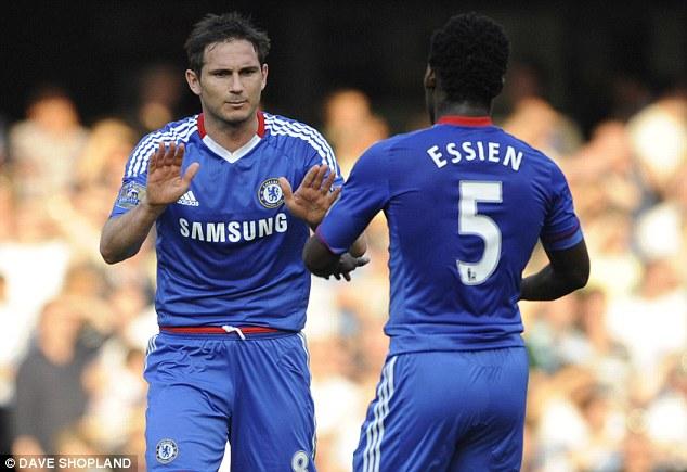 It ll be a big night for Frank Lampard on Chelsea return - Michael Essien 14792166d